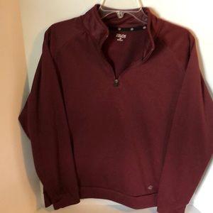 Zelos  Medium 1/4 zip pullover.